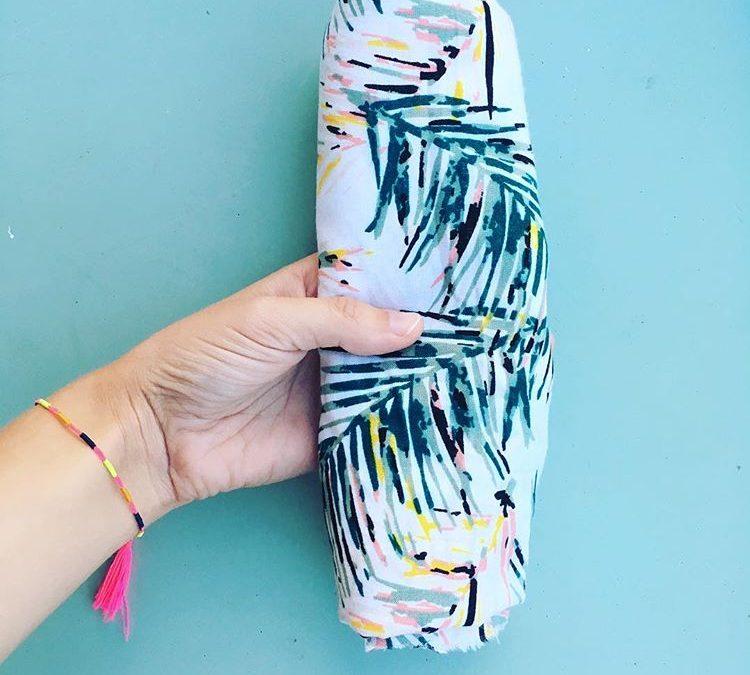 Tissu palmier